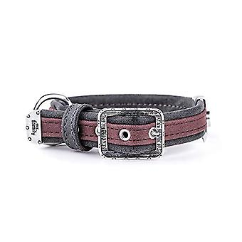 My Family Adjustable Collar in Leather-Like Made in Italy London Collection(10)