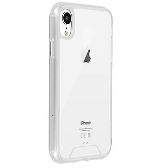 Cristal Series case, hybrid backcover for Apple iPhone XR – Ultra clear