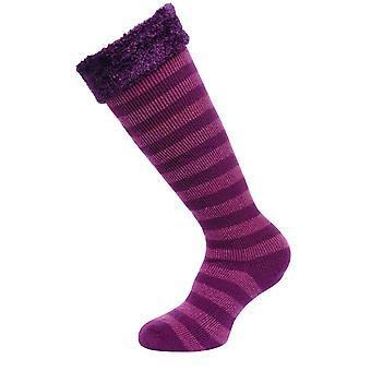 Regatta Great Outdoors Womens/Ladies Fur Collar Wellington Boot Socks