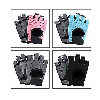 Män Kvinnor Fitness Handskar, Gym Tyngdlyftningshandskar
