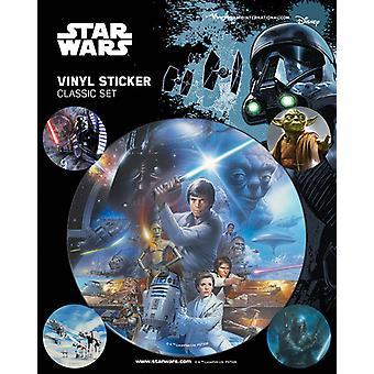Star Wars - Klassisk klistremerkepakke Vinyl klistremerke