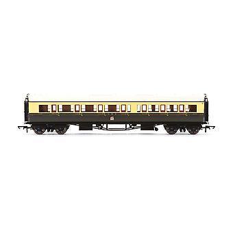 Hornby GWR Collett 'Bow Ended' Corridor Composite (L/H) 6528 Era 3 Model Train
