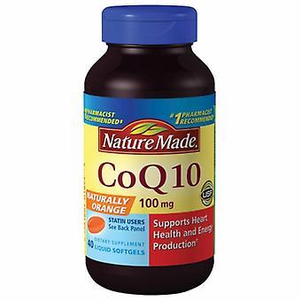 Nature Made CoQ 10, 100 mg, 40 Liquid Softgels