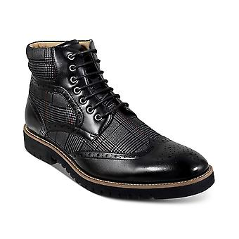 Stacy Adams Mens Barker Wingtip-Toe Boots