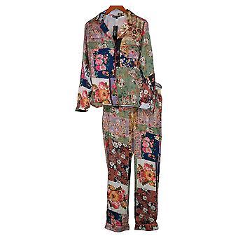 Tolani Collection Women's Printed Pajama Set Blue A390127