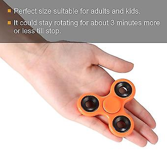 Durable estampado rotativo alivio de la tensión de la yema del dedo de la yema del dedo Tri-spinner de la mano spinner