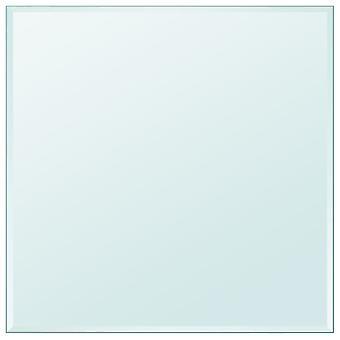 vidaXL pöytälevy karkaistu lasi neliö 800x800 mm