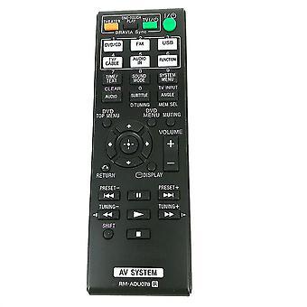Sustitución de mandos a distancia rm-adu078 para sony receptor de audio/vídeo mando a distancia dav-tz230 dav-tz510 dav-tz630 dav-tz710 hbd-tz135 hbd-tz530