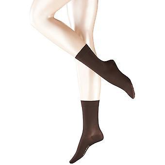 Falke Cotton Touch chaussettes - brun foncé
