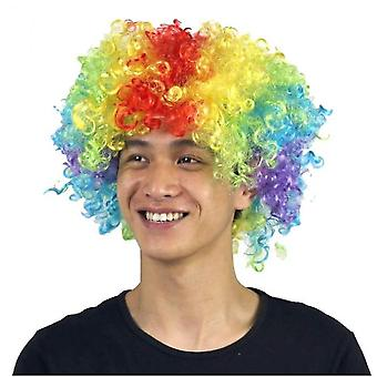 Party Supplies Festive Color Wig Funny Clown(Colorful)