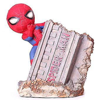 13cm Spider Man Action Figure Pen Holders