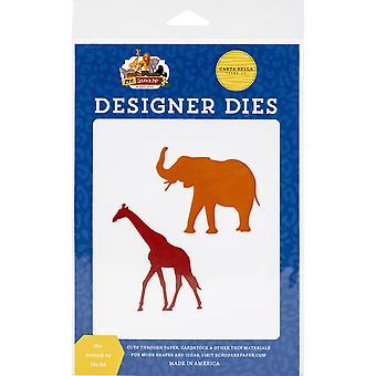 Carte Bella Dies - Eläintarhan eläimet #2