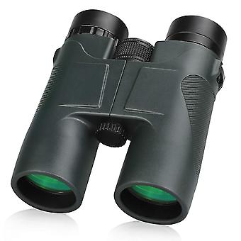 Compact Binoculars, 10X42 Pocket Format Binoculars with Clear Vision for Bird Watching, Travel,