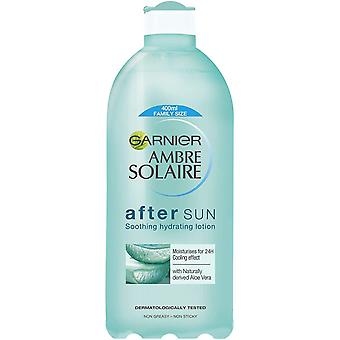 Garnier Ambre Solaire After Sun Lotion, Soothing and Calming Aftersun Enriched With Aloe Vera 400 ml