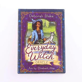 Mysterious Divination Daily Witch Tarot