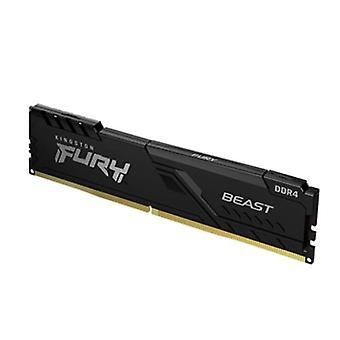 Kingston Fury Beast 16GB, DDR4, 2666MHz (PC4-21400), CL16, memoria DIMM