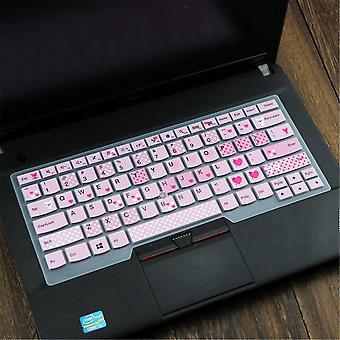 سيليكون 14 '' لوحة المفاتيح المحمول حامي دفتر لوحة المفاتيح الغطاء