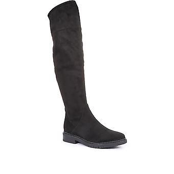 Gabor kvinner kne høye flate støvler