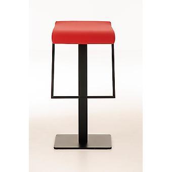 Tabouret de bar - Tabourets de bar - Chaise de bar - Métal rouge moderne