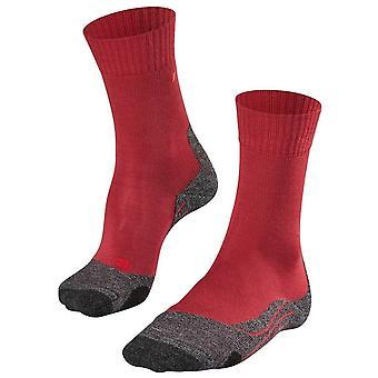 Falke Trekking 2 Chaussettes moyennes - Rouge Rubis