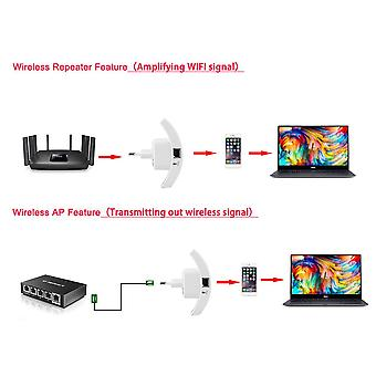 300mbps Bezdrátové N 802.11 Ap Wifi Range Router Repeater Extender Booster