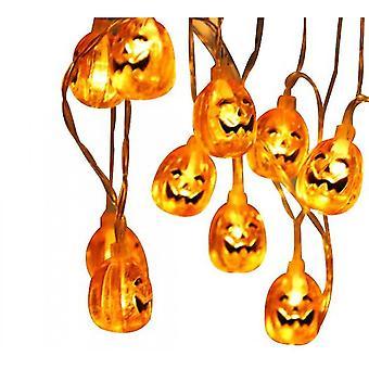 Pumpkin Halloween String Lights, Night Lamp Decoration For Halloween