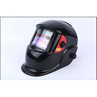 Plně automatická tmavovlávací maska svářeč ochranná přilba s hlavou