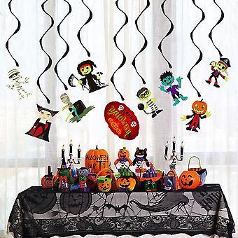Halloween diy paperi tassel kukka nauha koristelu puolue