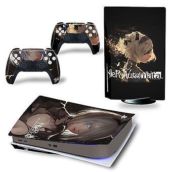 PS5 Digital Edition konzol és vezérlők bőrmatrica