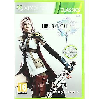 فاينل فانتسي XIII الكلاسيكية الطبعة اللعبة Xbox 360