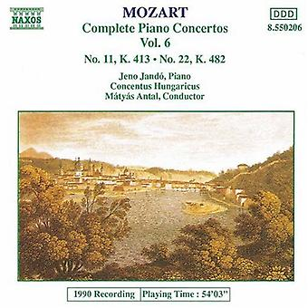 W.a. Mozart - Mozart: Piano Concertos nr 22 & 11 [CD] USA import