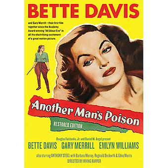 Another Man's Poison Restored Edition [DVD] USA import
