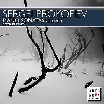 S. Prokofiev - Prokofiev: Piano Sonatas, Volume 1 [CD] USA import
