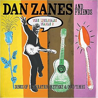 Dan Zanes & Friends - Welcome Table!: Songs of Inspiration Mystery & Goo [CD] USA import