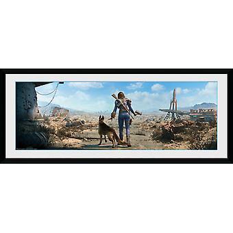 Fallout Sole Survivor Female Framed Collector Print