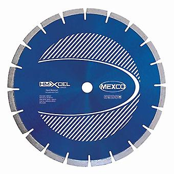 Mexco 230Mm Hard Materials Xcel Grade Diamond Blade