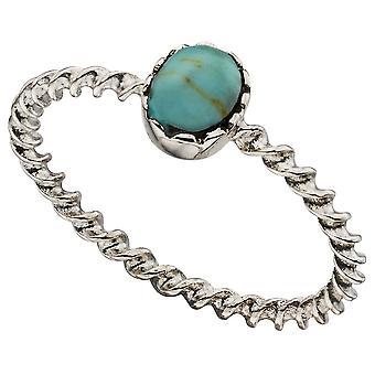 925 серебряные модным Бирюзовая кольцо