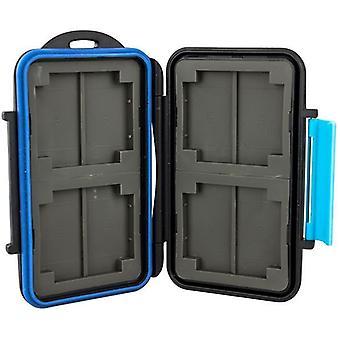 JJC acqua resistente Memory Card Case per CompactFlash: 4x o 8X carte SD/SDHC/SDXC