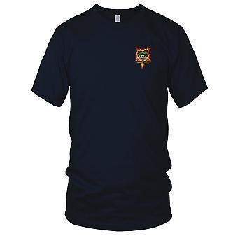 MACV-SOG forby meg Thuot - oss spesialstyrker FOB 5 - Vietnamkrigen Insignia brodert Patch - Mens T-skjorte