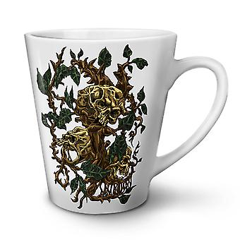 Goth Dead Tree NEW White Tea Coffee Ceramic Latte Mug 12 oz | Wellcoda