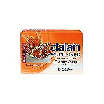 Dalan Multi Care Moisturizing Soap Miel y Leche 6x75g