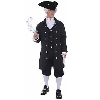 Oprichting van vader koloniale historische Patriot Benjamin Franklin Mens kostuum Plus