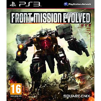 Front Mission Evolved (PS3) - New