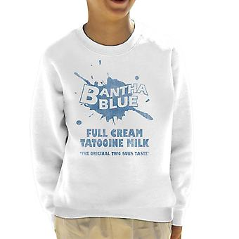 Star Wars Bantha blauw melk Kid's Sweatshirt