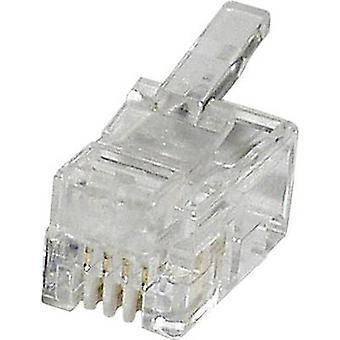 Modulaire stekker Plug, rechte MPL44R duidelijk econ sluit MPL44R 1 PC('s)