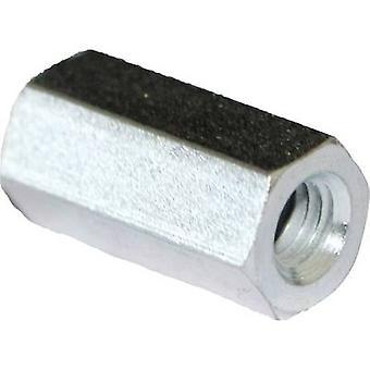 PB Fastener S58050X30 Spacer (L) 30 mm M5 x 11 Steel zinc plated 10 pc(s)