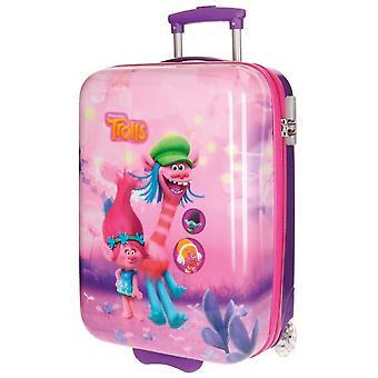 Trol del equipaje de mano Trolley rosa