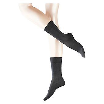 Falke herkkä Malaga sukat - antrasiitin harmaa
