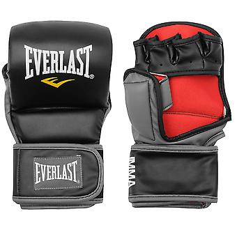 Everlast Unisex Strike Training Gloves Exposed Fingers MMA Sport Accessories