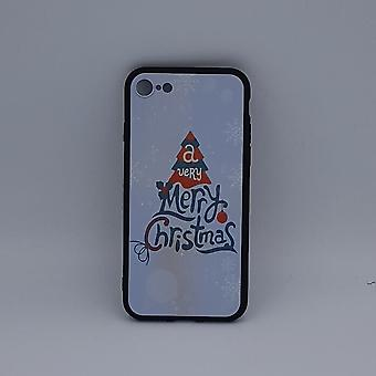 iPhone 7 hoesje - kerst - a very Merry Christmas - wit